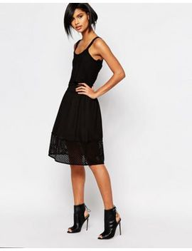 vero-moda-mesh-midi-skirt by vero-moda