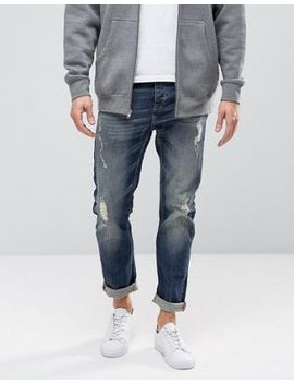 united-colors-of-benetton-jeans-in-regular-fit-with-rip-repair-detail by united-colors-of-benetton