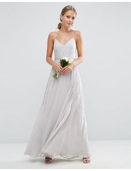 asos-wedding-embellished-cami-maxi-dress by asos-collection