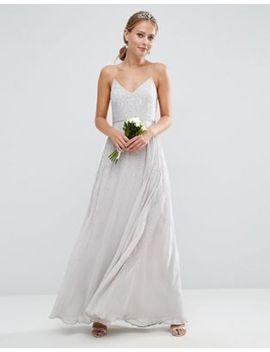 asos-wedding-embellished-cami-maxi-dress by asos-collection