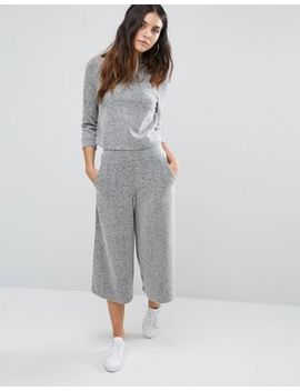 river-island-bonded-culottes-co-ord by river-island