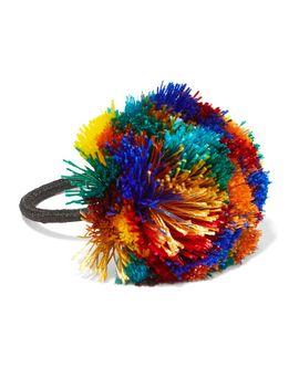 guatemala-pompom-hair-tie by rosantica