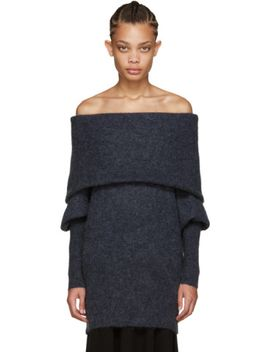 blue-mohair-daze-sweater by acne-studios