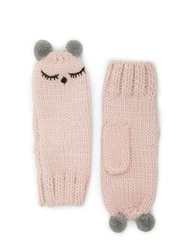 sleepy-face-mittens by forever-21
