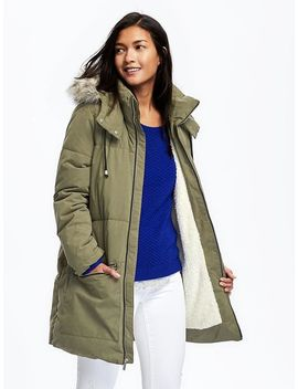 frost-free-hooded-parka-for-women by old-navy
