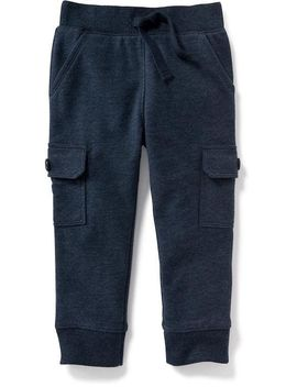 fleece-cargo-pocket-joggers-for-toddler by old-navy