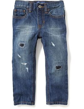 skinny-rip-and-repair-jeans-for-toddler-boys by old-navy