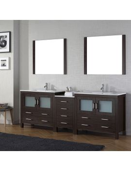 virtu-usa-dior-90-inch-ceramic-top-double-bathroom-vanity-set-with-faucets by virtu-usa