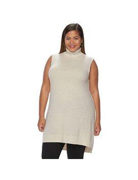 plus-size-apt-9®-mockneck-tunic-sweater by kohls