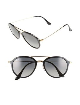 53mm-aviator-sunglasses by ray-ban