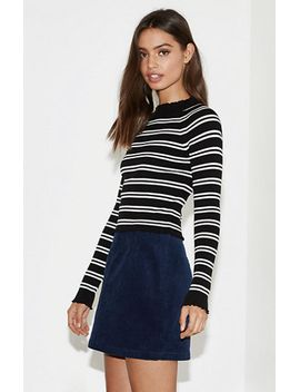kendall-&-kylie-solid-corduroy-skirt-at by kendall-&-kylie