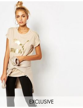 puma-oversized-boyfriend-t-shirt-with-logo by puma