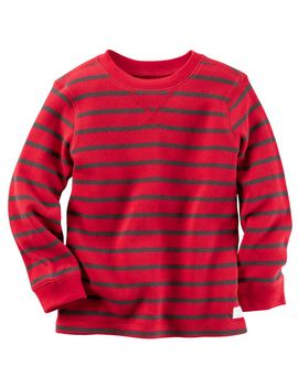long-sleeve-striped-thermal-tee by carters