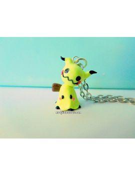 sun-&-moon-pokémon-mimikyu-necklace by nerdylittlesecrets