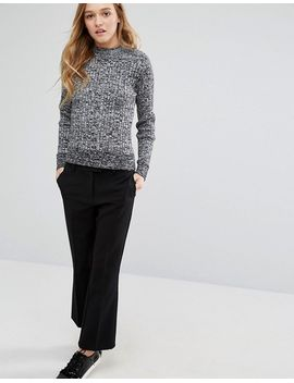 monki-light-weight-knit-top by monki