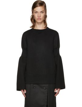 black-zippered-pullover by sacai