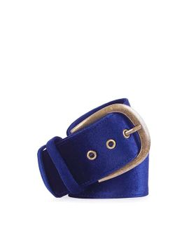 wide-velvet-belt by topshop