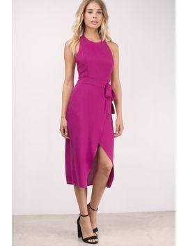 time-warp-blush-midi-dress by tobi