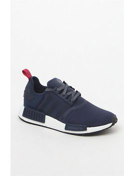 adidas-womens-nmd_r1-navy-sneakers-at by adidas