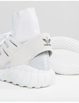 adidas-originals-tubular-doom-trainers-in-white-s80509 by adidas-originals