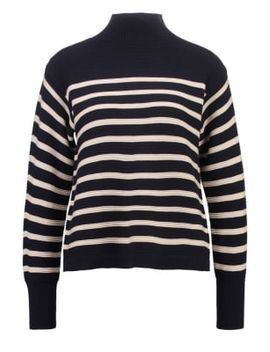 sweater---navyblue by topshop