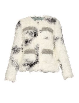 cindy-spotted-faux-shearling-jacket by shrimps