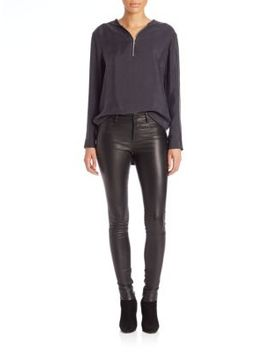 skinny-leather-pants by set