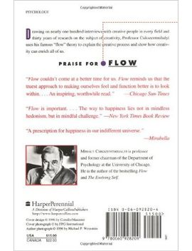 creativity:-flow-and-the-psychology-of-discovery-and-invention by mihaly-csikszentmihalyi