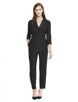 tuxedo-jumpsuit by banana-repbulic
