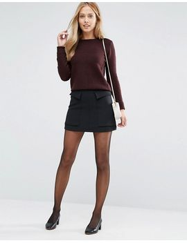 oasis-crew-neck-knitted-jumper by oasis