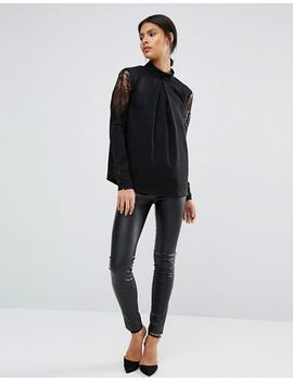 yas-alche-long-sleeve-top by yas