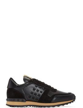 black-rockstud-sneakers by valentino