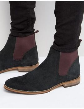 asos-chelsea-boots-in-black-suede by asos