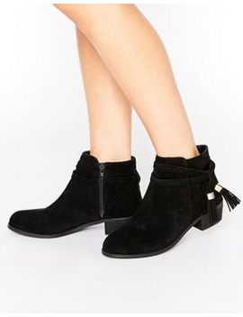 asos-acrux-tassel-ankle-boots by asos-collection
