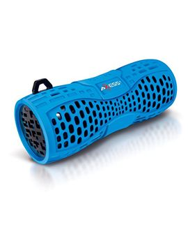 axess-spbw1035-portable-water-resistant-bluetooth-loud-speaker-system-with-speakerphone-to-answer-your-calls-in-blue by axess