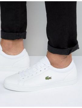 lacoste-straightset-trainers by lacoste