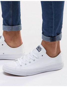 converse-chuck-taylor-all-star-ii-plimsolls-in-white-150154c by converse