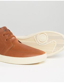 fred-perry-shields-mid-leather-trainers by fred-perry