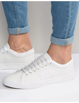 fred-perry-kendrick-cuff-leather-plimsolls by fred-perry