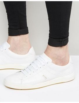 boss-orange-by-hugo-boss-leather-trainers by boss-orange-by-hugo-boss