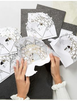 paperchase---lot-de-6-cartes-de-noël-pop-up-igloo-et-ours by paperchase