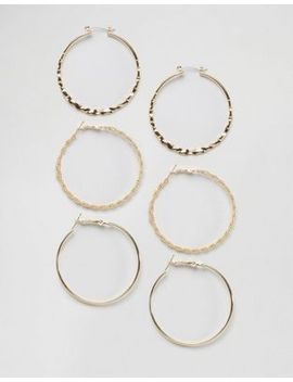 designb-london-gold-multipack-hoops by designb