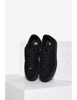 puma-basket-jewels-suede-sneaker by nasty-gal