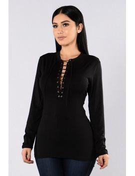 shame-game-top---black by fashion-nova