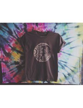desert-mandala-shirt by solsticehandmade
