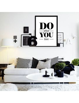 do-what-you-love----printable-minimalist-typography,-wall-art-print,--dorm-decor,-instant-download,-digital-art-print,-black-and-white-art by typoartquotes