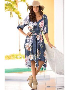 indigo-field-dress by boston-proper