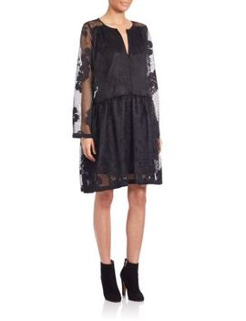 long-sleeve-lace-dress by see-by-chloé