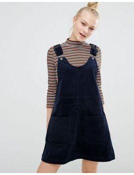 monki-cord-pinny-dress by monki
