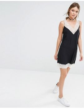 new-look-premium-lace-trim-slip-dress by new-look
